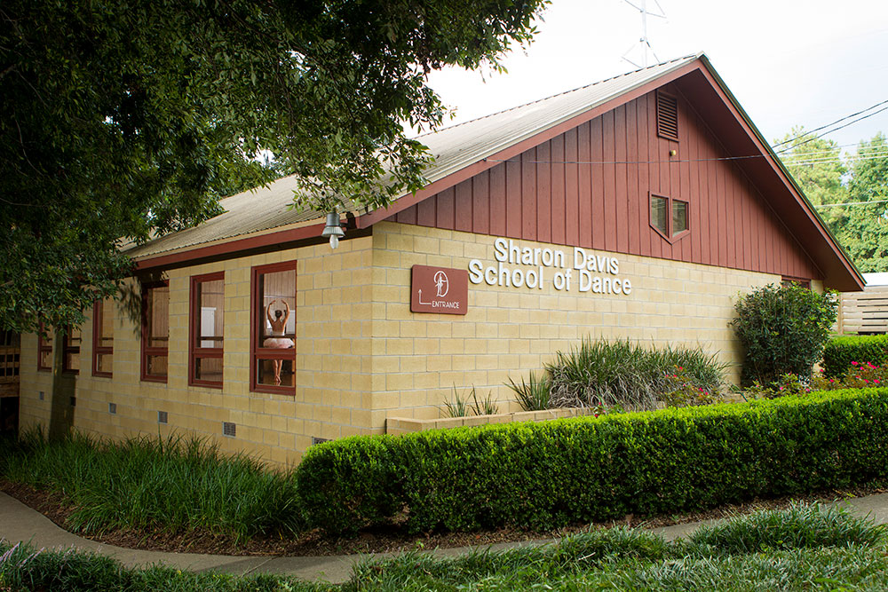 Dance studios in Tallahassee, Florida, Sharon Davis School of Dance.