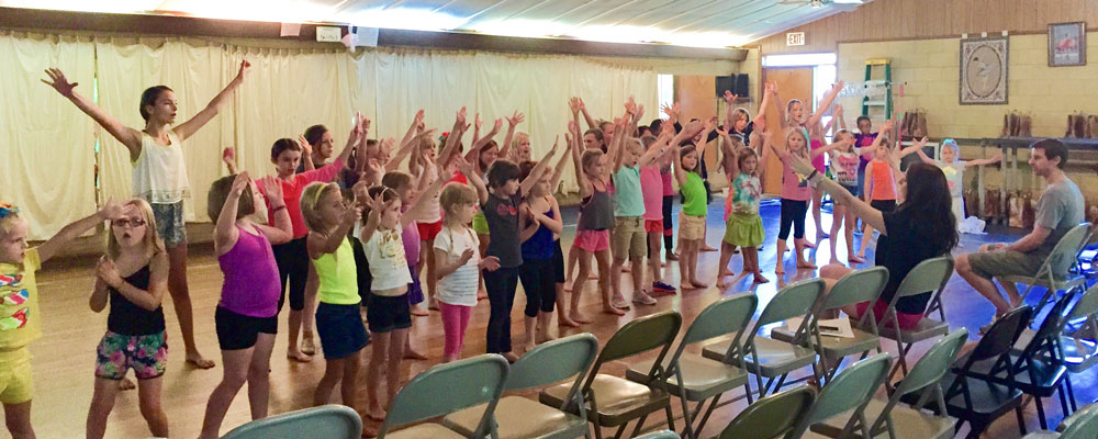 Performing Arts Summer Camp in Tallahassee, Florida.