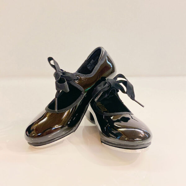 A pair of shiny Balera Dancewear tap shoes for sale in Tallahassee.