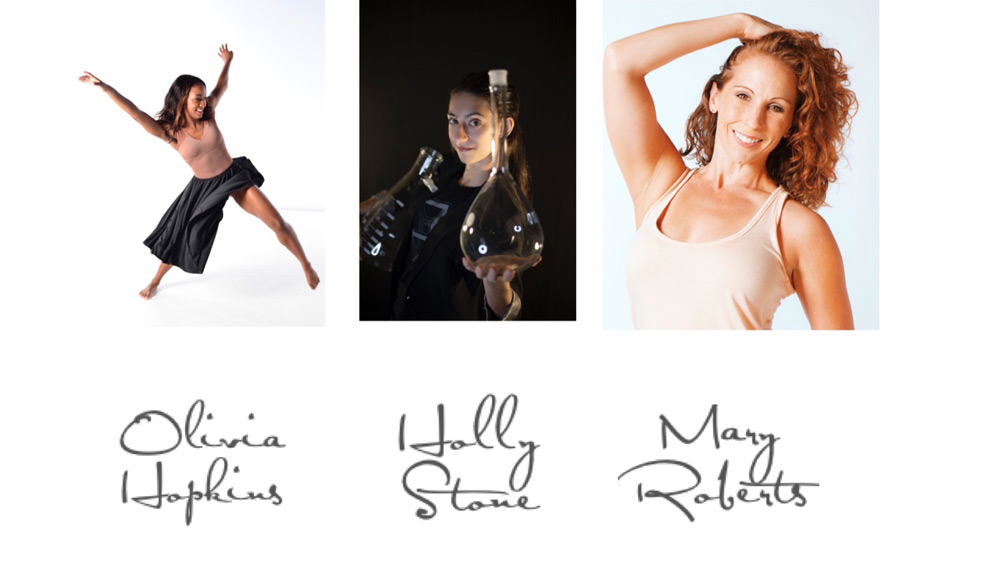Guest dance teachers Olivia Hopkins, Holly Stone, and Mary Roberts will be teaching a week of master dance classes at Sharon Davis School of Dance in Tallahassee August 17th - August 21st, 2020.